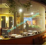 Attractive Crystal Chain Hanging Space Partition Screen