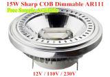 LED 7W COB LED Dimmable AR111 LED AR111