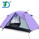 Hot Sale Family Sport Outdoor Purple Double Layer Best Tents