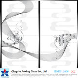 12mm Silk-Printed Toughened Glass for Building/Construction