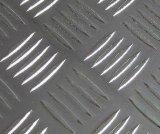 China Factory Aluminum Tread Plate with Five Bar, Diamond Pattern