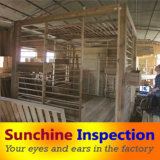 Garden Furniture Inspection Service / Pergola Quality Inspection / Sunchine Inspection Reliable Third Party Company Inspection