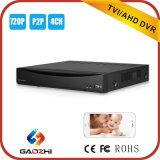 720p 4CH CCTV DVR Support P2p