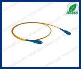 Fiber Optic Jumper Wire Patch Cord Sc-Sc Single Mold