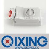 Cee 32A 4p Interlock/ Socket with Switch (QX5793)