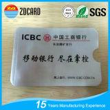 Aluminum Foil Paper RFID Blocking Card Holder for IC Card