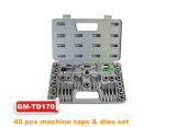 40 PCS Machine Taps & Dies Set (GM-TD170)