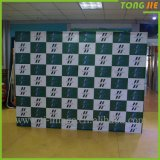 Custom Portable Trade Show Backwall Straight Pop up Stand