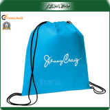 Logo Printed TNT Polypropylene Backpack Bags for Grocery