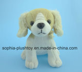 Soft Stuffed Plush Dog Toy with Dog Sound
