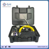 Portable Underwater Sewer Pipe CCTV Inspection Equipment Push Rod Drain Cameras for Sale