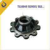 ISO/Ts16949 Certificated Iron Casting Truck Wheel Hub Supplier