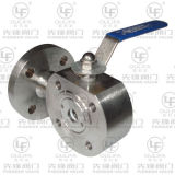 L Port 3-Way Ball Valve Wafer Short Pattern