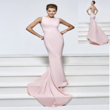 High quality Satin Mermaid Evening Dress