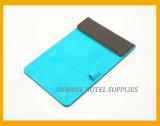 Hotel Guestroom Black Leatherette Notepad Holder