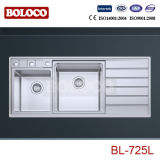 High Quality Stainless Steel Kitchen Sink Bl-725L