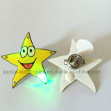 Custom LED Light Blinking Pin for Promotion Gifts (3569)