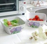 (BC-MB1037) High Quality Reusable Imitation Porcelain Melamine Bowl