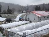 Winter Farm Frost Cover