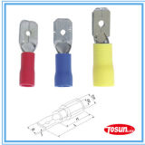 Insulated Male Disconnector Insulated Terminal (Crimp Terminal)