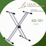 Dismountable Double X Keyboard Stand/Ks-101