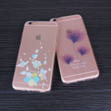 Customize Mobile-Cell Phone Case with Rhinestone&Pattern Inside