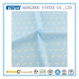 Light Blue Cotton Fabric Cartoon Goose Design for Sewing Cloth/Bedding