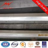 Outdoor Polygonal Coating Galvanized Steel Tubular Pole for Africa Market
