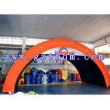 Inflatable Arch Dome Tent/Orange Oxford Inflatable Arch