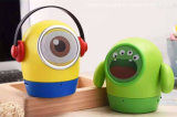 Demon Bluetooth Speaker Cute Big Eye Frawn Portable Minions Wireless Speakers W Mic Support TF Card for Ios Andriod Phone