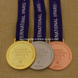 Custom Metal Tournoi International Paris Medal