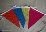 Hom Decoration Party Bunting/Pennant String Triangular Flags Printing