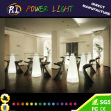 16 Colors RGB Rechargeable Bar Furniture LED Taper Table