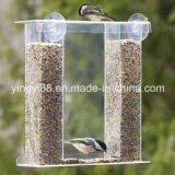Crystal Clear Acrylic Plastic Birds Eye View Window Feeder