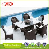 Wicker Furniture, Dining Table & Chairs (DH-9587)