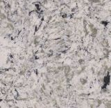 Double Color Texture Countertop Quartz Stone Slab