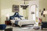 Foshan Manufacture Bedroom Home Furniture Modern Leather Soft Bed Headboard