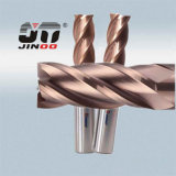 Two Flutes Tialn Coated Sqaure Carbide Milling Cutter