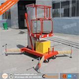 4-10m Single Mast Aluminum Lift Working Platform