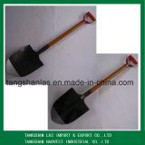 Handle Shovel Yellow Brwon Color Wooden Handle Shovel