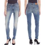 Custom Fashion Tight Skinny Jeans Cotton Wash Jegging Pants