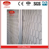Aluminum Wire Mesh Hollow out Safety Stair Handrail (Jh153)