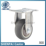 "1""Micro Duty TPR Fixed Caster Wheel"