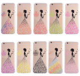 Butterfly Shining Bling Glitter Crystal Diamond TPU Cover for iPhone6