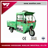 Open Body Hybide Agriculture/Farm Three Wheel Motor Tricycle