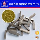 Customized 40X6X9mm Diamond Segment Marble Cutting Diamond Tips for Stone Block Splitting