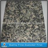Polished Natural Brown Leopard Skin Granites Slabs Tiles for Flooring/Wall