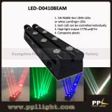 Double Line Moving Head 8X10W LED Beam Light