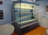 Open Vertical Multideck Display Showcase with Air Curtain