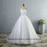 A-Line Neckline Sexy Backless Wedding Dress Lace Wedding Gown